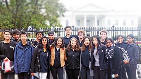 Archbishop Mitty Advocacy Project Travels to Washington DC